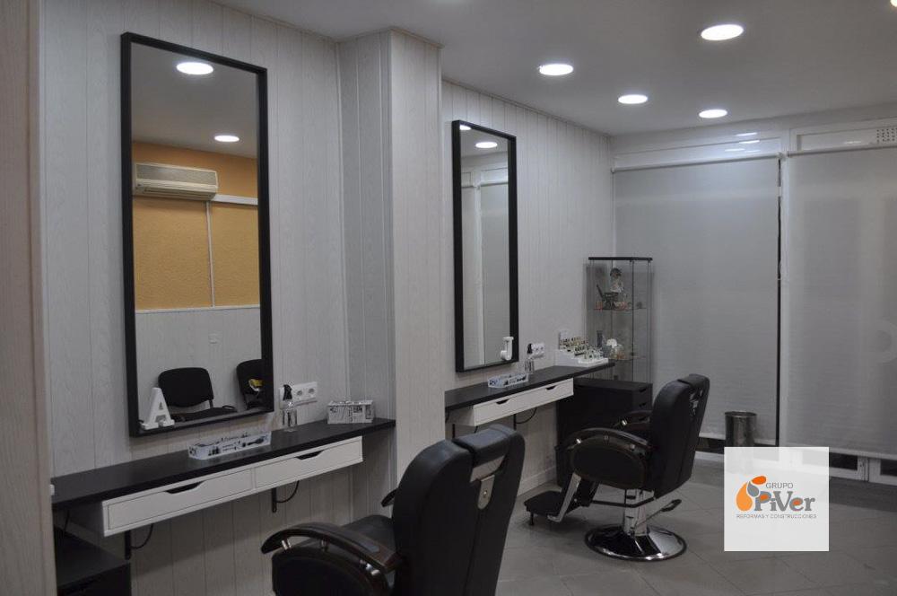 reforma local comercial alcorcon peluqueria 1